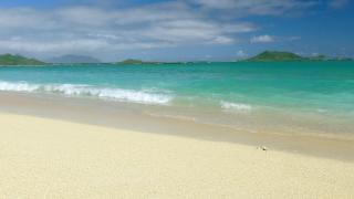 Beautiful Island Beach Sand Shore Sky Nature Idyllic Footage Sea Water Vacation Travel Peaceful Tourism Hawaii