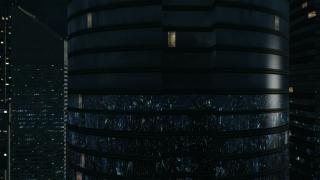 3D City Night Flight HD