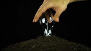 Screw Light Bulb Energy Conservation  Soil