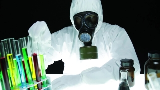 Hazardous Chemical Biohazard Chemist Research