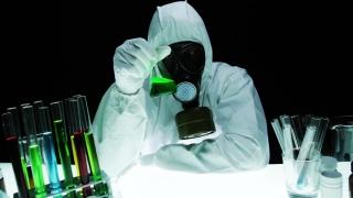 Virus Threat Biohazard Research