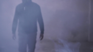 War Destruction Poison Gas Mask Grunge Man