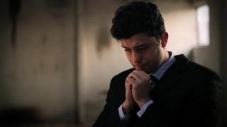 Businessman Despair Prayer Praying God Devine Help
