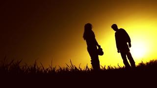 Heartbroken Woman Concept Silhouette