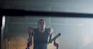 Strong Muscular Male Gymnast Doing Exercise Parallel Bar In The Gym Skill Practice Precision Gymnastics Competitive Mindset Concept 4k
