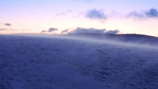 Drone Aerial Over National Park Winter Peak Golden Hour Colors Beautiful Colors Sky Cold Blizzard Cinematic Flight 4k