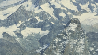 Drone Footage Snowcapped Swiss Alps Majestic Mountains Switzerland Major Natural Feature Idyllic Aerial Environment Geology Peak Travel Destination Famous Europe
