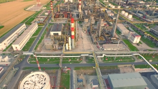 Global Industry Oil Refinery Petrol Production Commerce Refinery Factory Industrial Production