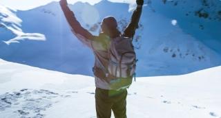 Hand Silhouette Person Sport Couple Summer Man Nature Winter Success Mountain Peak Top Adventure Sky Extreme Travel Climber Freedom Climbing Rock High Hiking Trekking Cliff Landscape